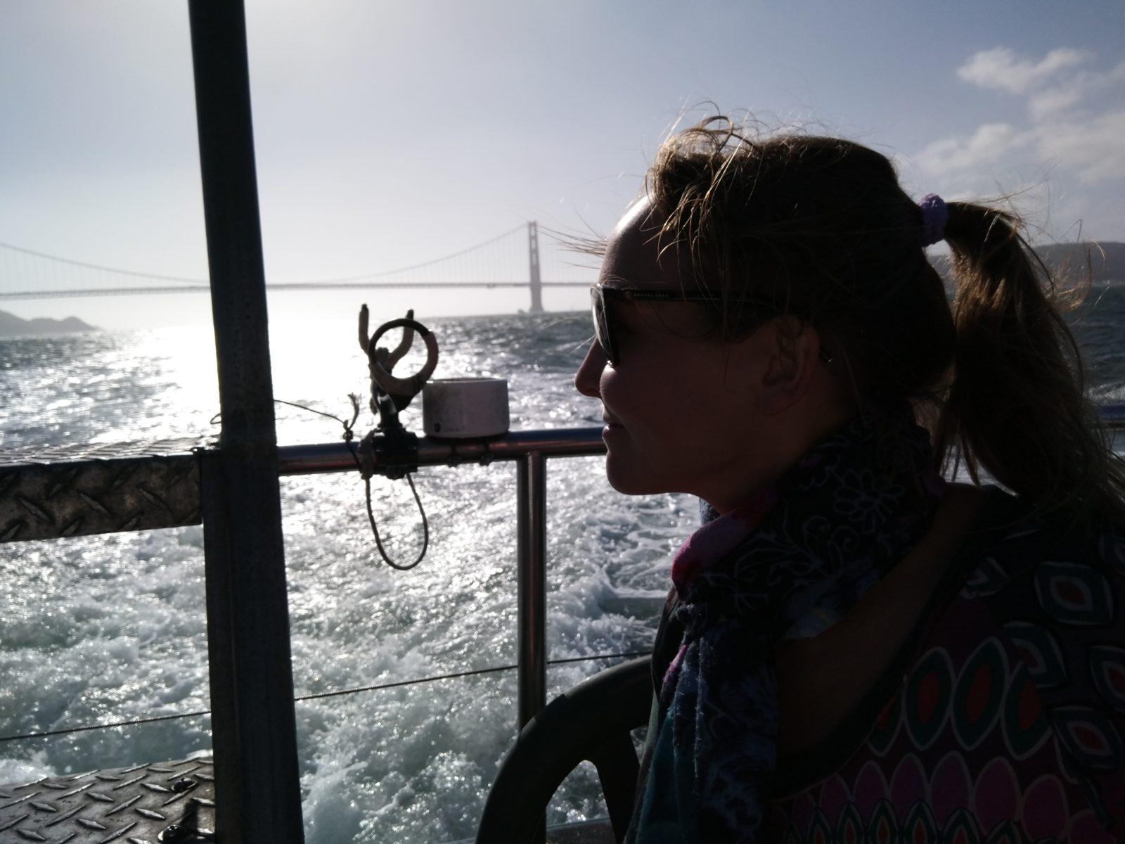 Golden Gate -risteilyllä yksin