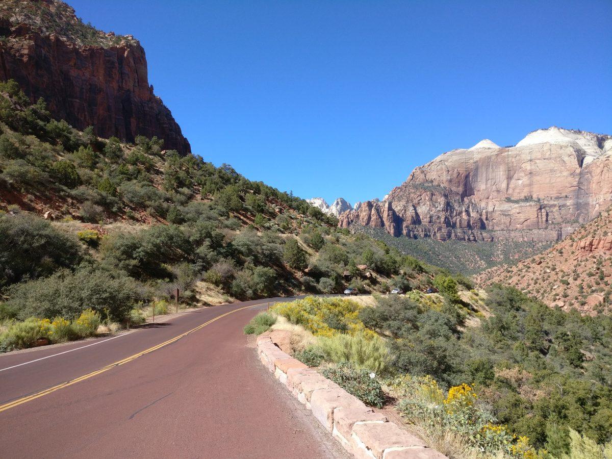 Seikkailua Zionin kansallispuistossa Utahissa