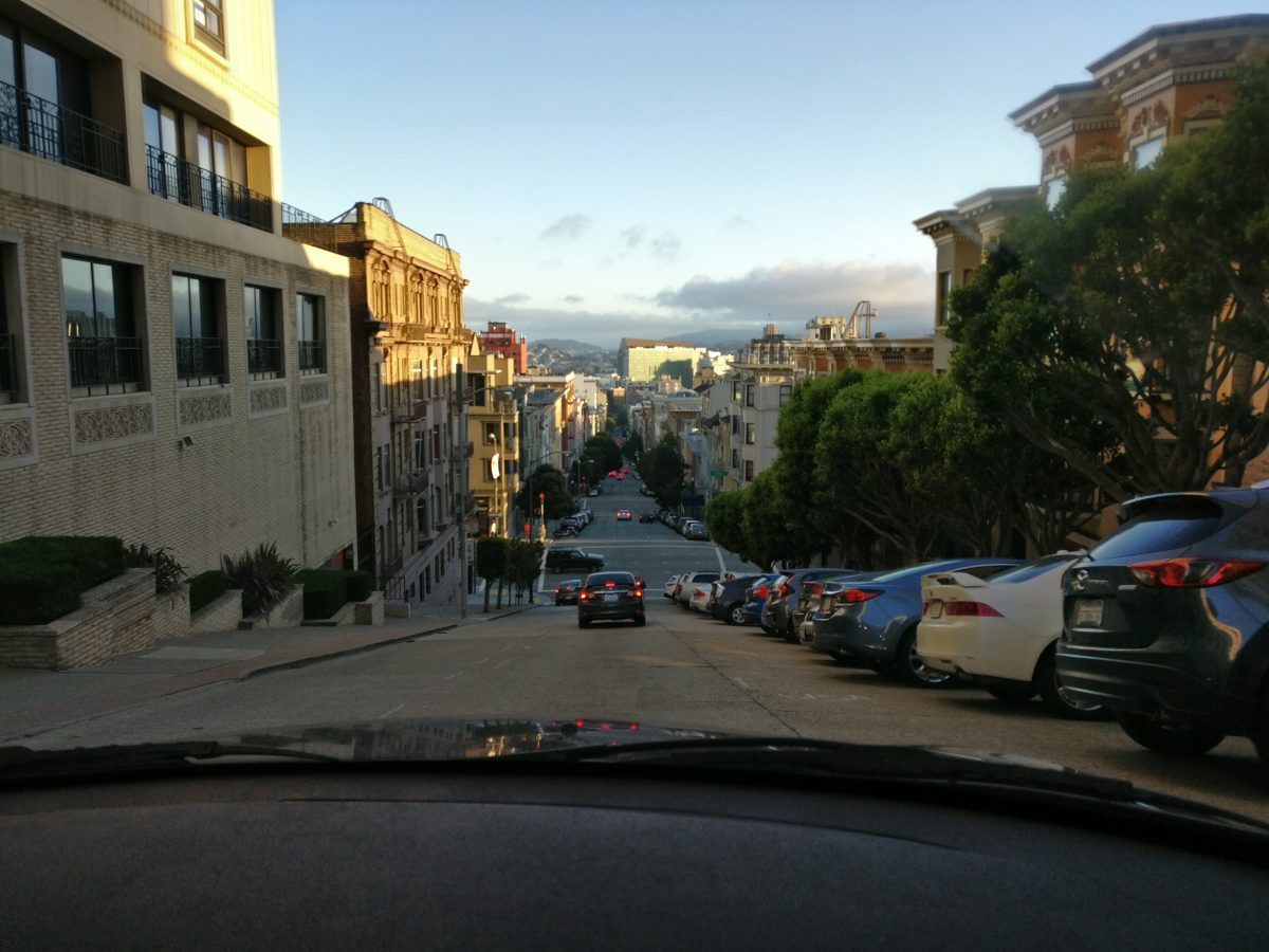 San Francisco cruising