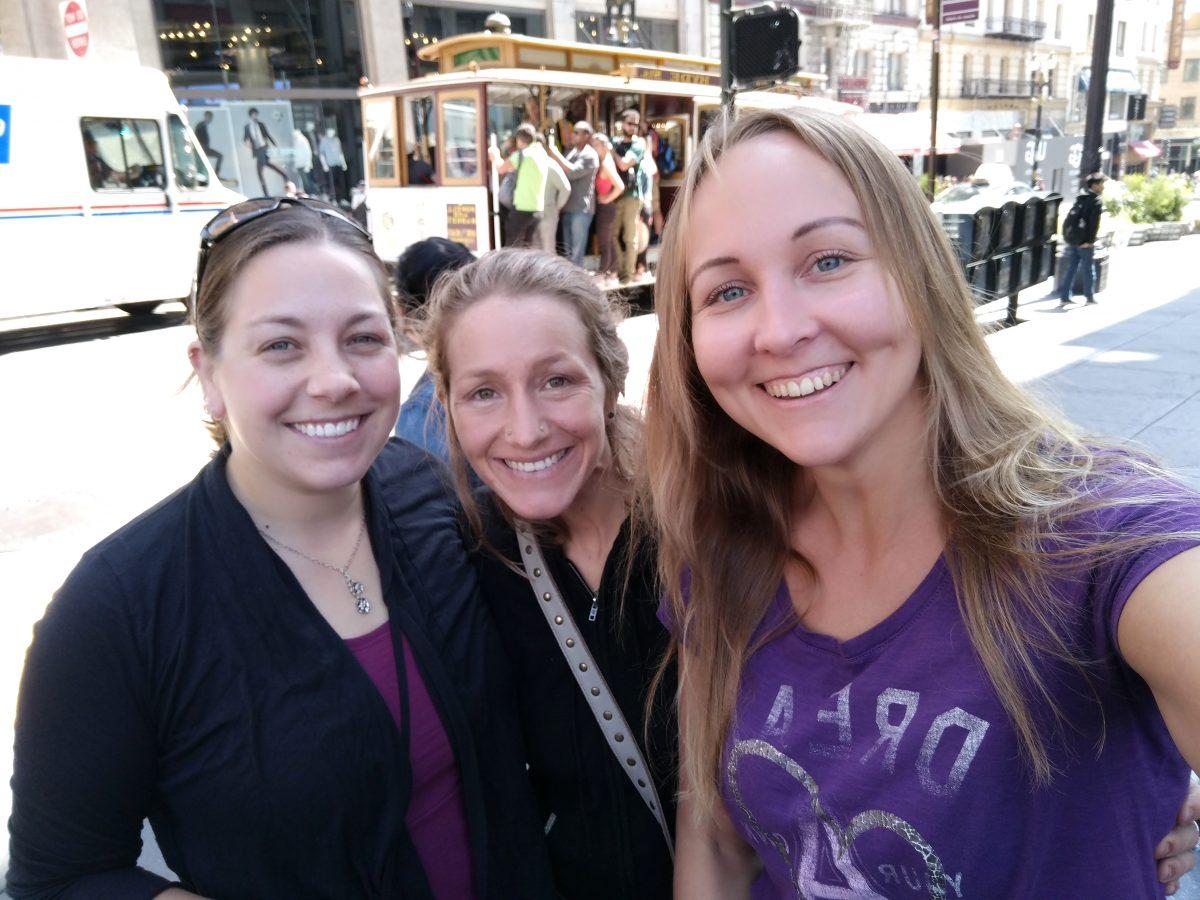 Meeting my American sisters in San Francisco