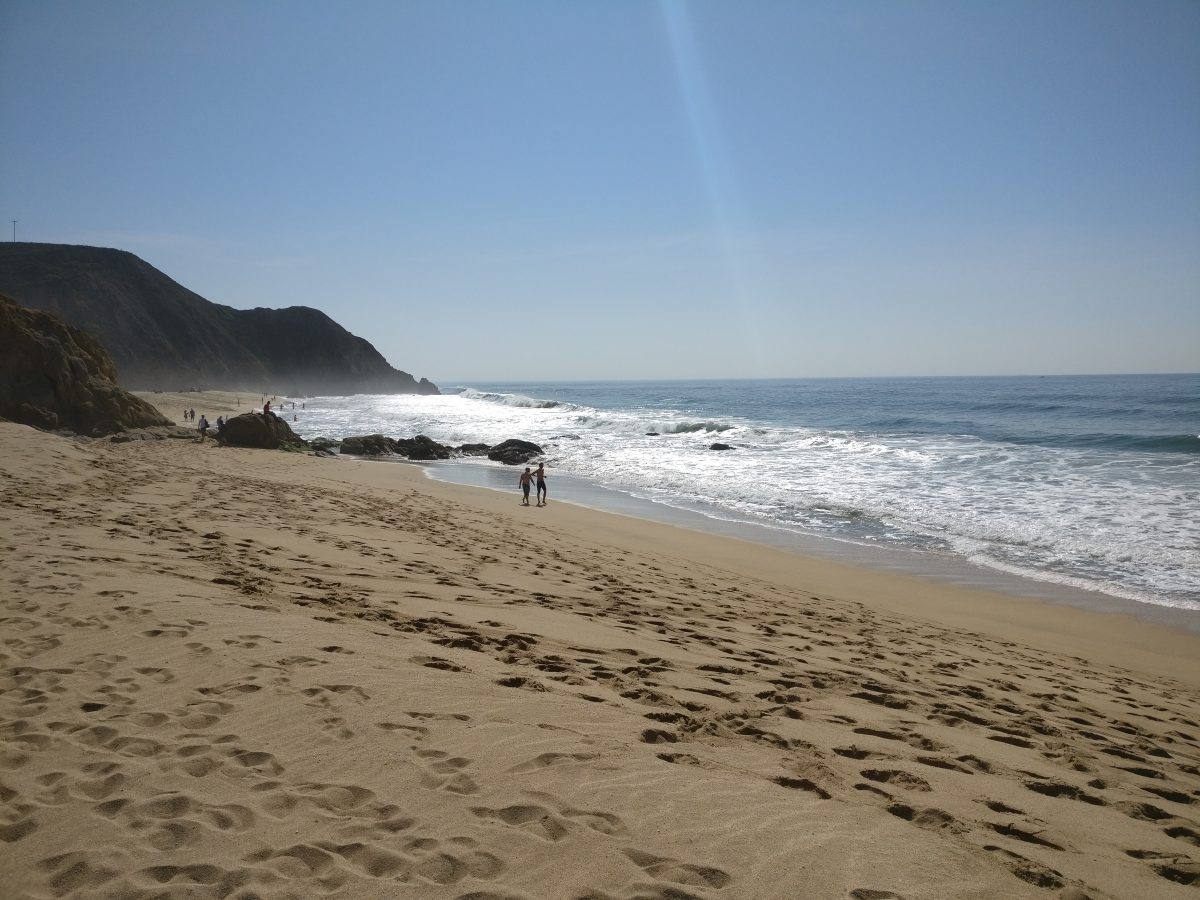 Gray Whale Cove State Beach, Kalifornia