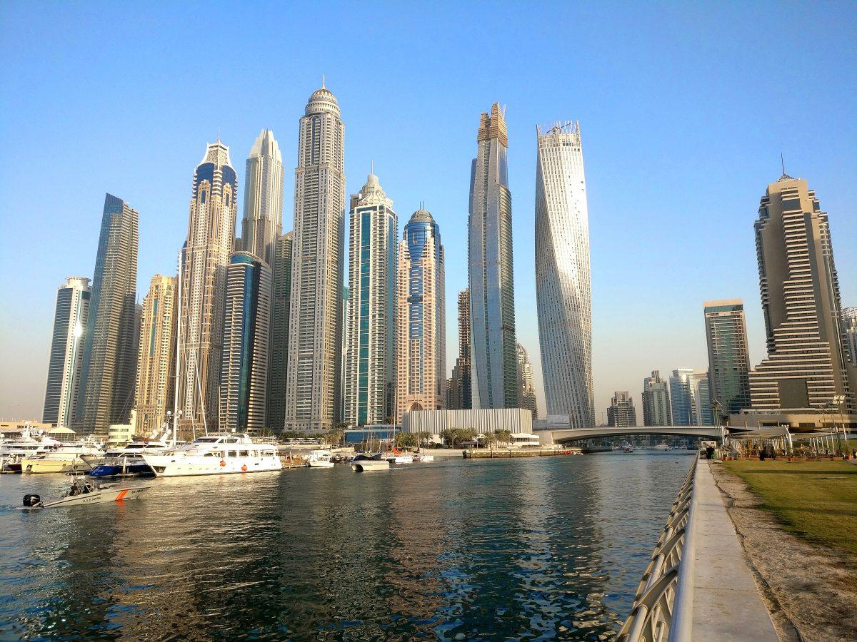 Dubai, tammikuu 2017