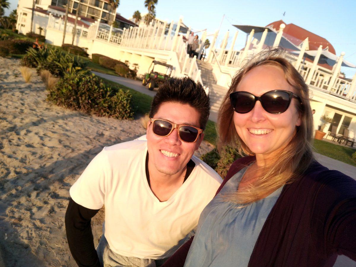 Youngin kanssa San Diegossa