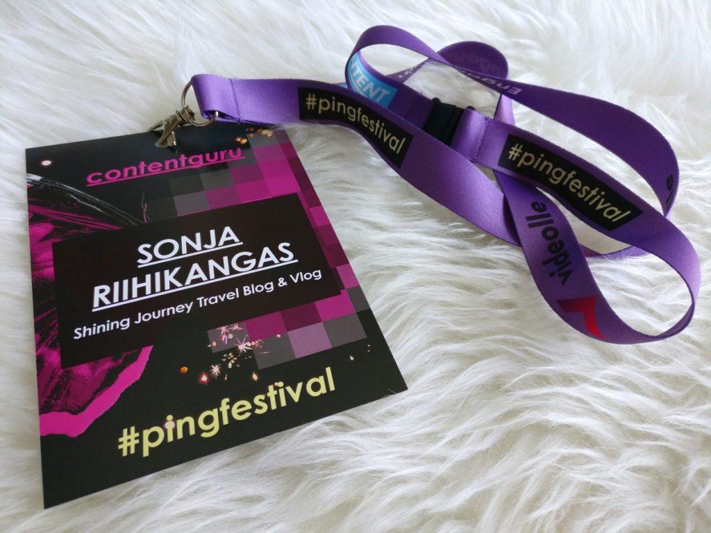 PING Festival 2018, Shining Journey Travel Blog & Vlog