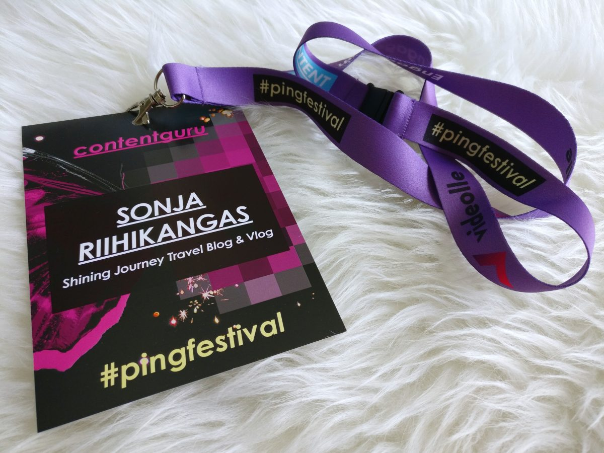 PING Festival 2018, Shining Journey Travel Blog & Vlog
