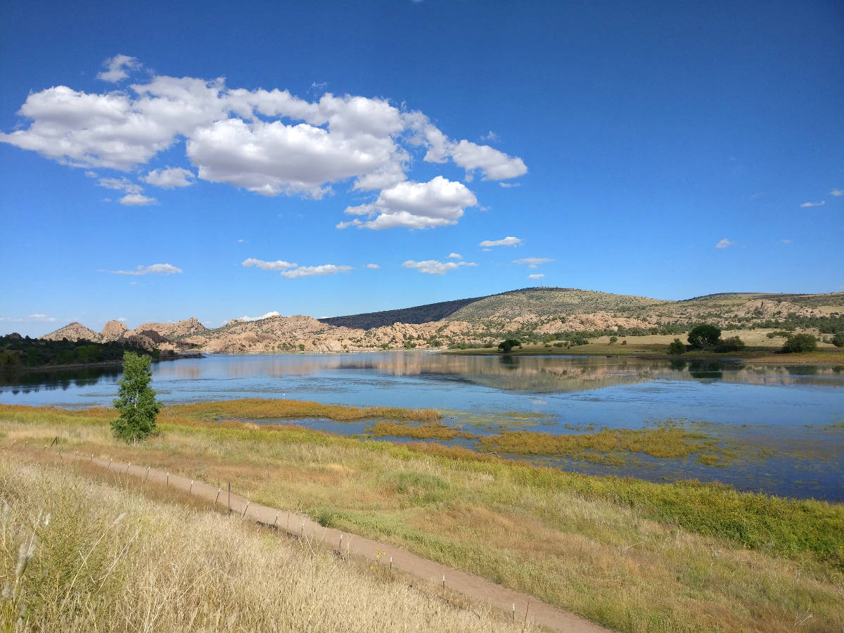 Arizona, Watson Lake, Prescott Powwow, Shining Journey -matkablogi