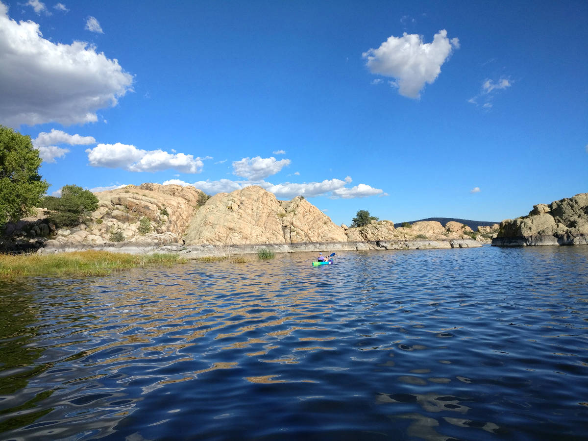 Arizona, Wilson Lake, Prescott Powwow, Shining Journey -matkablogi