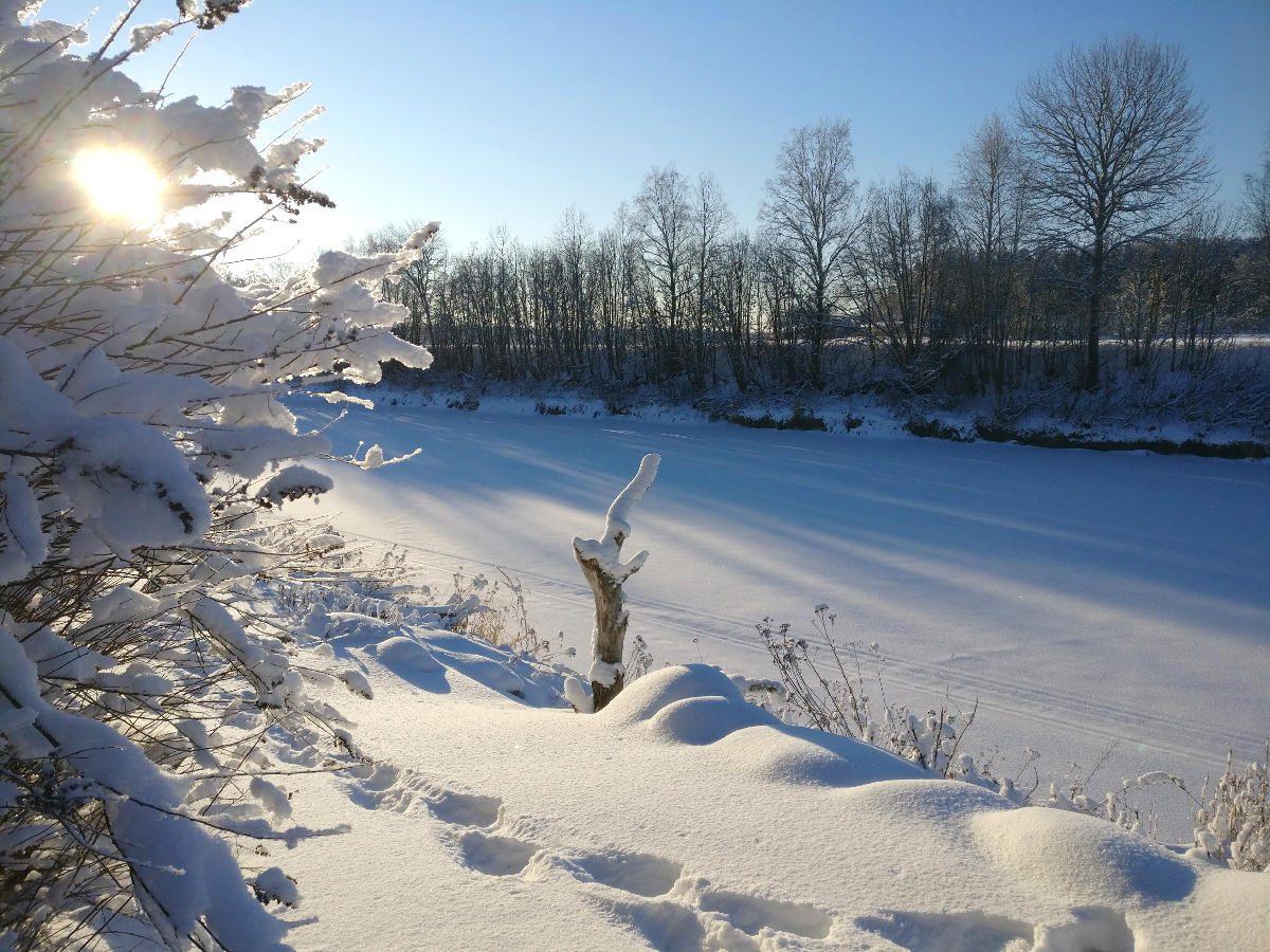 Suomen talvi, Shining Journey -matkablogi