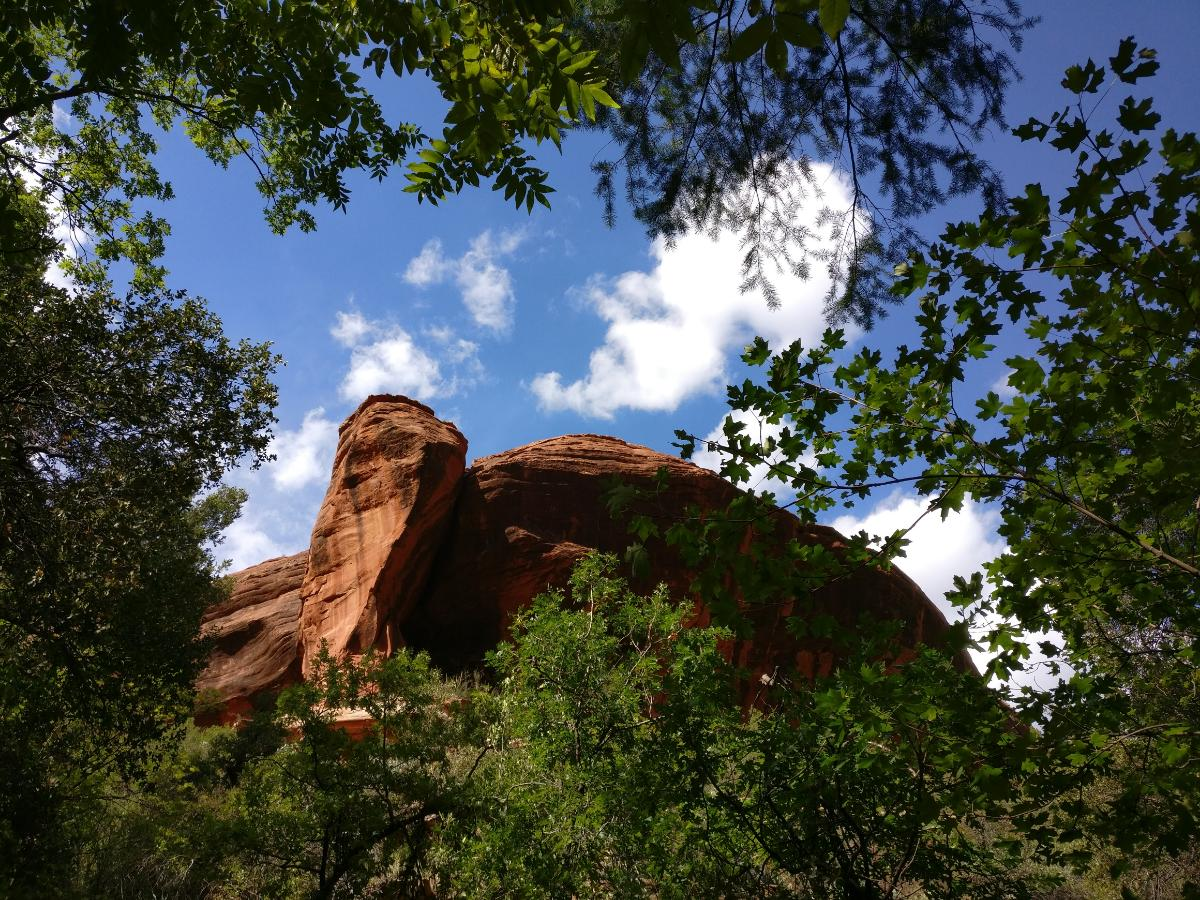 Boynton Canyon, Sedona, Arizona, Shining Journey -matkablogi