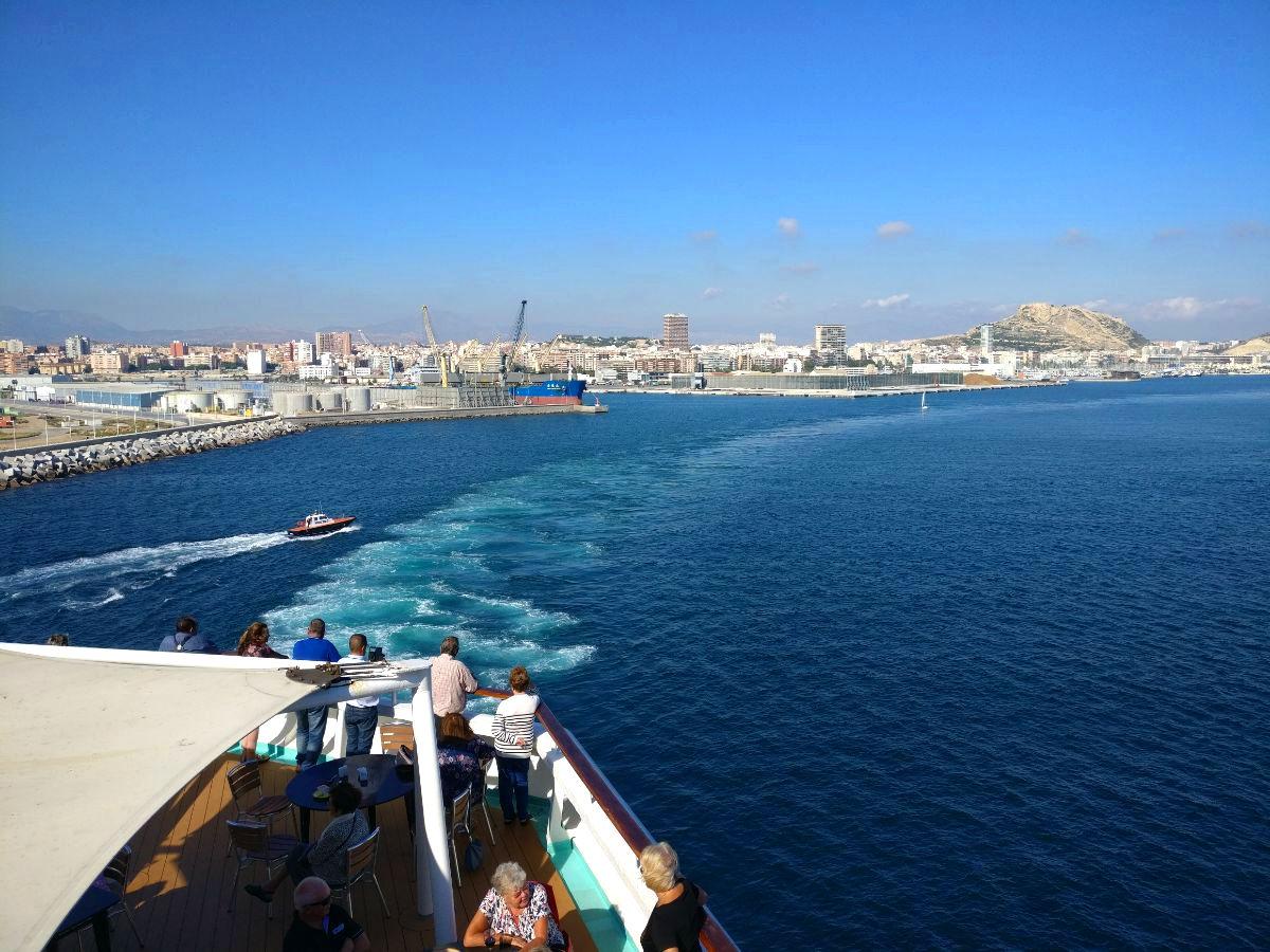 Välimeren risteily, Alicante
