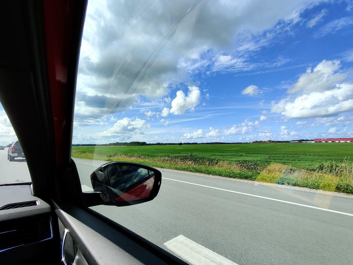 Kaasuautolla Suomesta Espanjaan